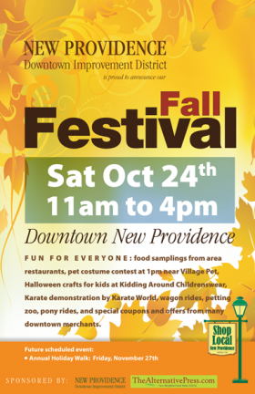 New Providence Fall Festival Poster