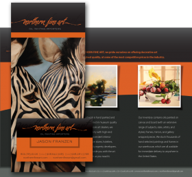Tri-fold brochure & business card