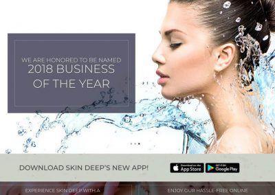 Skin Deep Salon and Spa Website