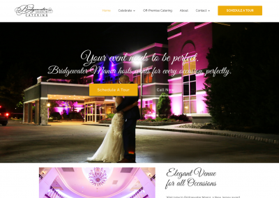 Bridgewater Manor Website